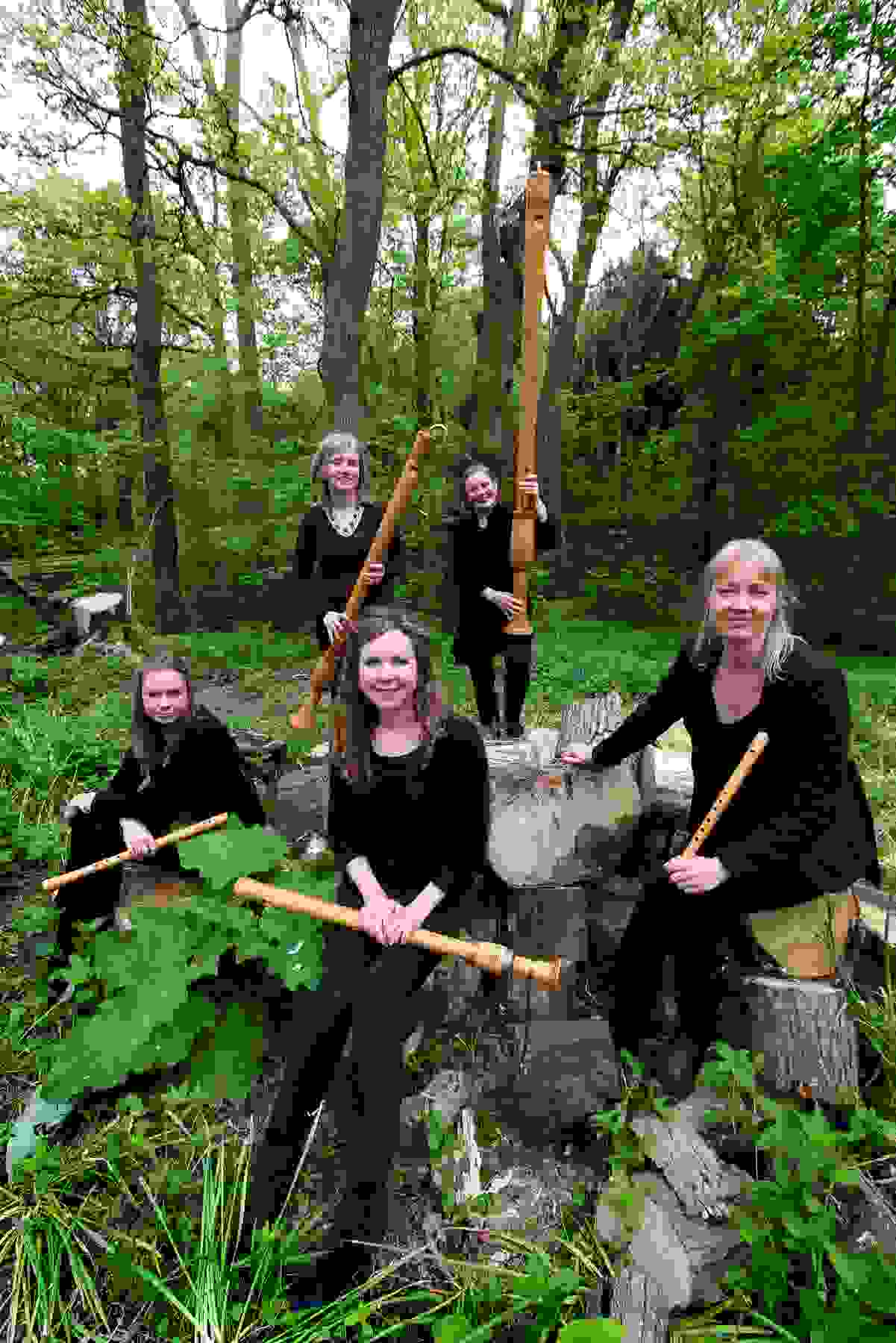 Fontanella Recorder Quintet - The Wood so Wild