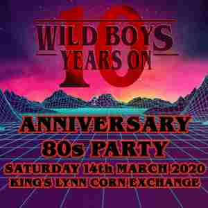 Wild Boys 10 year Anniversary Charity Night