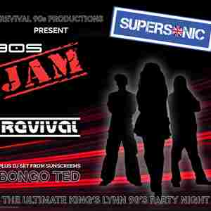90's Revival presents Supersonic