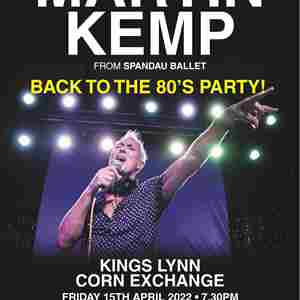 Martin Kemp - Back to the 80's Party